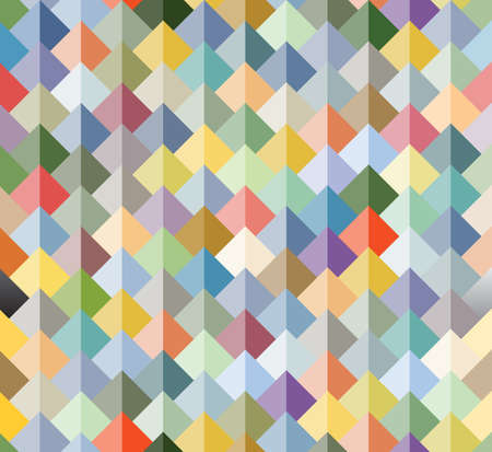 soft peak: Abstract colorful geometrical texture background - vector seamless pattern