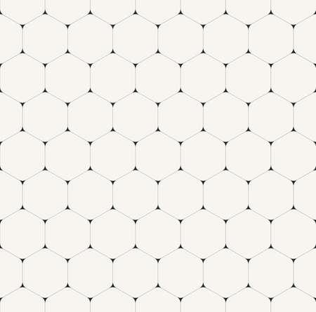 Simple clean modern volumetric hexagonal background - vector seamless pattern Stock Illustratie