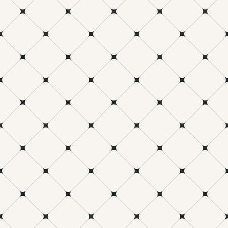 Simple clean modern diagonal tiles background - vector seamless pattern Vettoriali