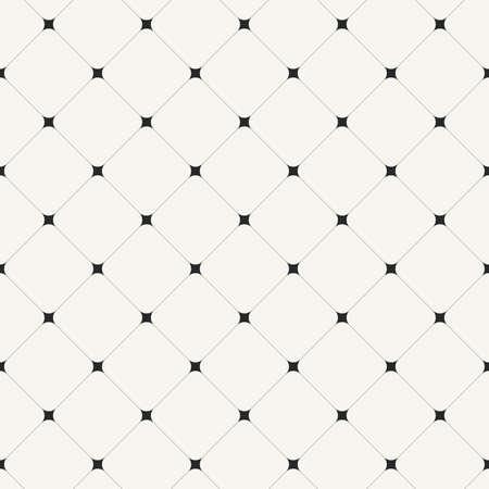 Simple clean modern diagonal tiles background - vector seamless pattern Иллюстрация