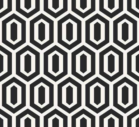 古代アフリカの観賞用テクスチャ背景、幾何学的図形 - ベクターのシームレスなパターンを繰り返しの構造  イラスト・ベクター素材