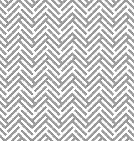 Modern simple geometric fabric texture with repeating parquet looking herringbone pattern - vector seamless pattern