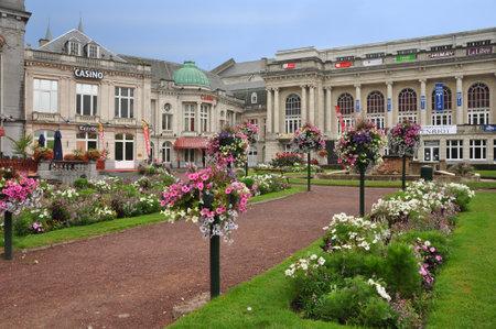 Het Casino in Spa, gebouwd in 1763 ter wereld oudste Casino, België Redactioneel