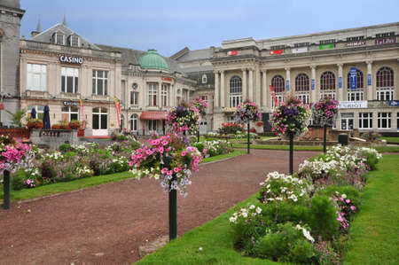 build in: The Casino in Spa, build in 1763 world oldest Casino, Belgium Editorial
