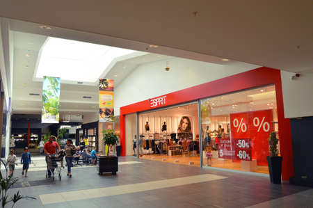 Luxembourg - July 30, 2012 : A retail store of Esprit Holdings Limited in a shopping Mall in Luxembourg