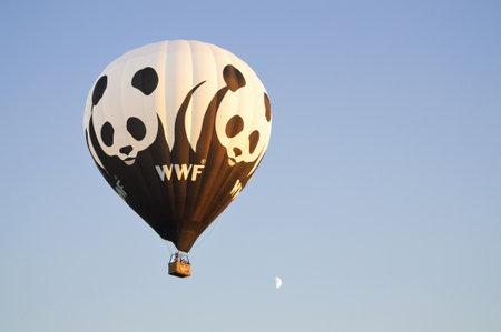 Het WWF luchtballon - Wereld Natuur Fonds