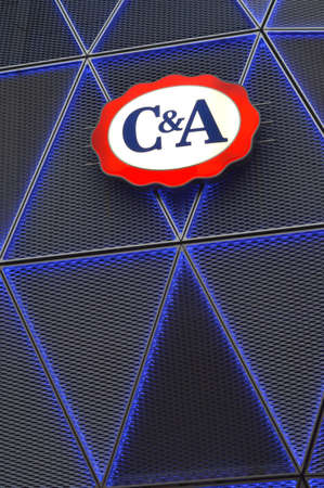 C and  A logo - C A is an international Dutch chain of fashion retail clothing stores