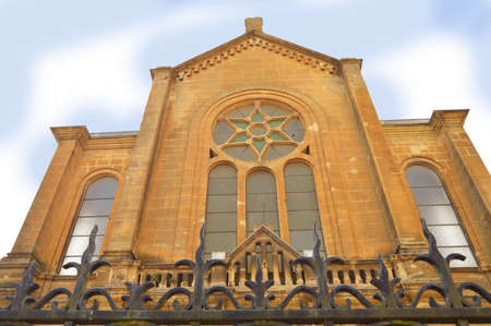 Sedan Synagogue - Facade of the synagogue of Sedan, France