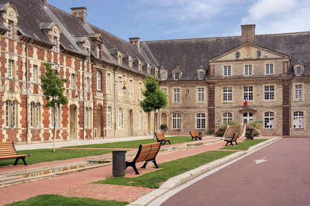 municipal court: Town Hall of Carentan, Normandy, France