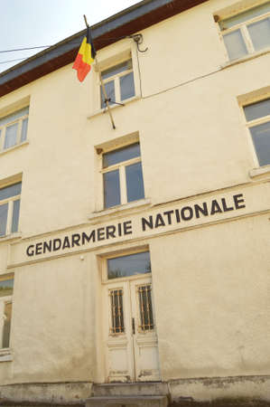 nationale: Building of the Gendarmerie Nationale, the former paramilitary police force of Belgium