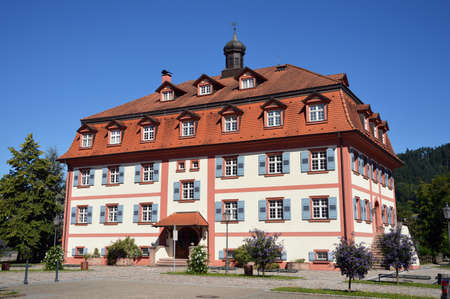 Heritage Museum at mansion in Hausach, Baden-Wuerttemberg, Germany