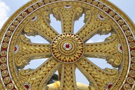 dhamma: Wheel of Dhamma, symbol of Buddhism