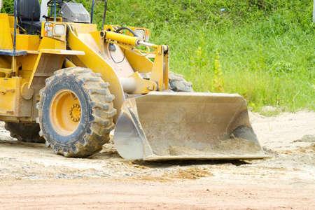 front loader: Heavy front loader