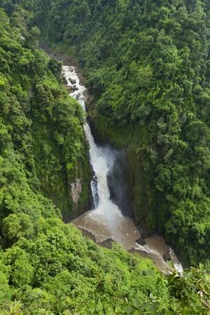 Beautiful Haew Narok Waterfall in Khao Yai photo