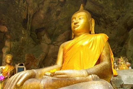 Golden Buddha Buddha head Stock Photo - 13895872