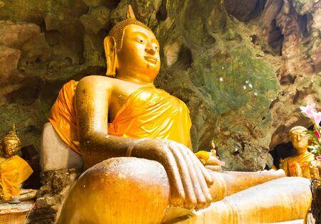 buddha head: Golden Buddha Buddha head