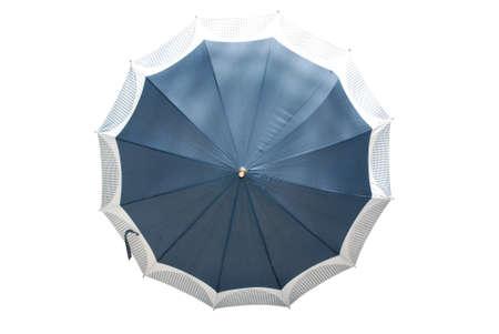 umbrella isolated on white background photo