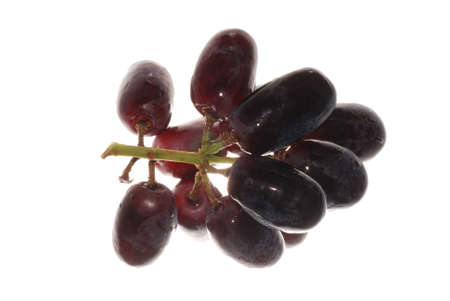 grape isolated on white background photo