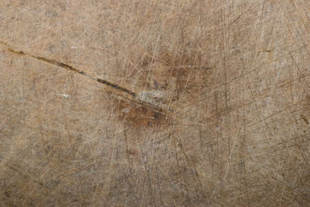 wooden chopping board with scored surface texture background Stock Photo - 8316286