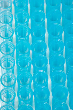 science blue test pipette plastic tips Stock Photo - 8419208