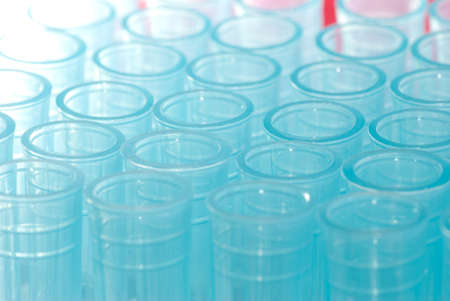science blue test pipette plastic tips Stock Photo - 8535136