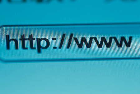 browsing bar text http www macro Stock Photo - 8686313