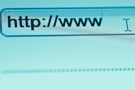 browsing bar text http www macro Stock Photo - 8686314