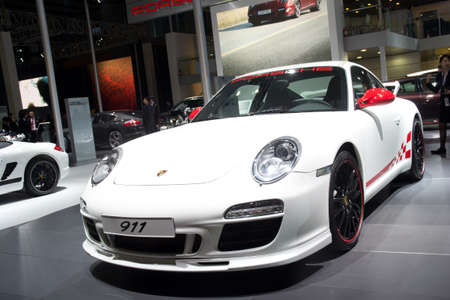 GUANGZHOU, CHINA - DEC 27: Porsche 911 sport car on display at the 8th China international automobile exhibition. on December 27, 2010 in Guangzhou China. Sajtókép