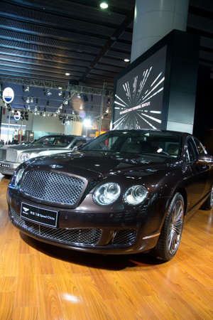 GUANGZHOU, CHINA - DEC 27: Bentley car on display at the 8th China international automobile exhibition. on December 27, 2010 in Guangzhou China.