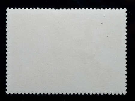 sello postal: Fondo de marco en blanco negro de sello