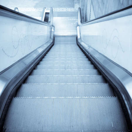 moving escalator on modern city Stock Photo - 9121933