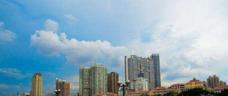 overall: ciudad moderna general ver Foto de archivo