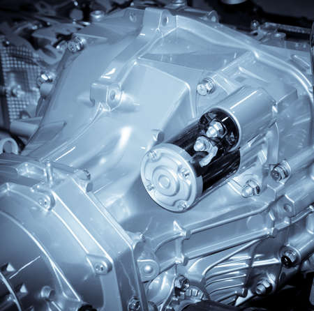new filter: industry car engine Stock Photo