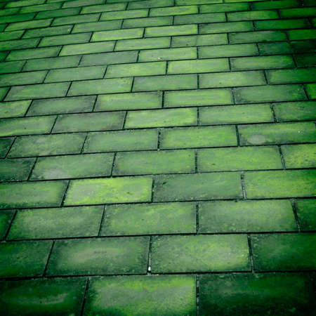 brick road background photo
