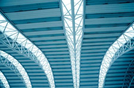 modern city architecture ceiling detail photo