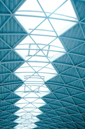 modern city architecture ceiling detail Stock Photo - 10752563