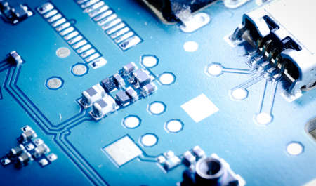 industry electronic circuit board background of cell phone photo