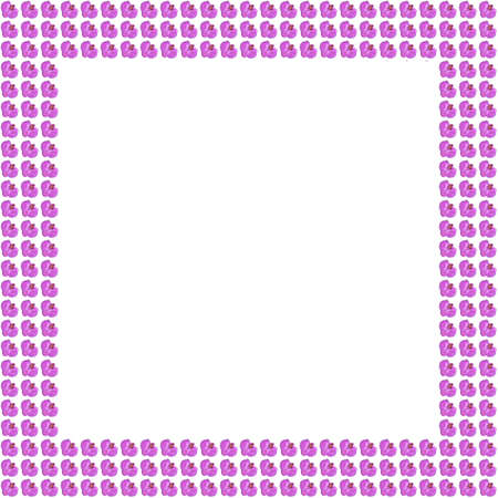 pink orchid flower frame background photo
