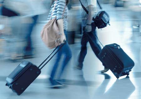 Gehen Stadt Passagier Unschärfe Bewegung Standard-Bild - 11624720
