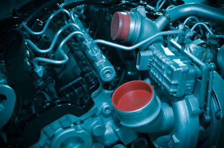 automotive industry: modern industry auto car engine