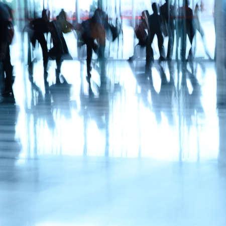 Stadt Geschäftsleute abstrakten Hintergrund verwischen Bewegung Standard-Bild - 11624357