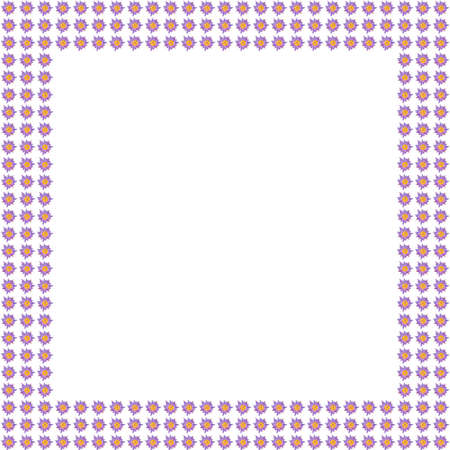 pink lily flower frame background Stock Photo - 11624963