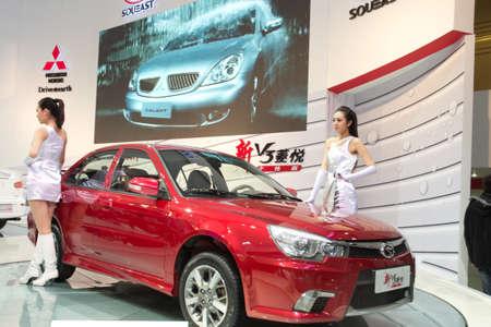 GUANGZHOU, CHINA - DEC 27: Mitsubishi car on display at the 8th China international automobile exhibition. on December 27, 2010 in Guangzhou China.