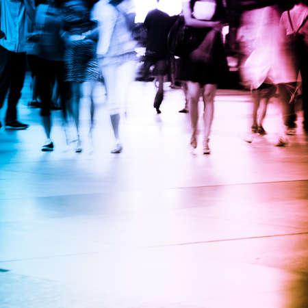 Geschäftsleute abstrakt blur motion Standard-Bild - 11728246