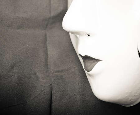 Chinese ancient opera mask photo