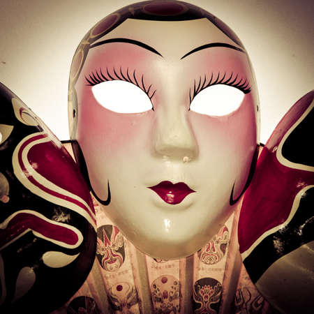 chinese opera: Chinese ancient opera mask