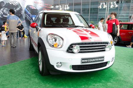 GuANGZHOU, CHINA - OCT 02: Mini Cooper Countryman car on display at the Guangzhou daily Baiyun international automobile exhibition. on October 02, 2011 in Guangzhou China. Stock Photo - 11729131
