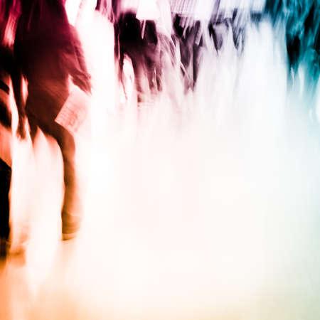 Stadt Geschäftsleute Menschenmenge Standard-Bild - 11728152