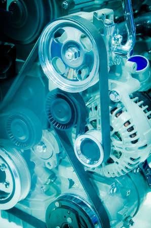modern industry auto car engine photo
