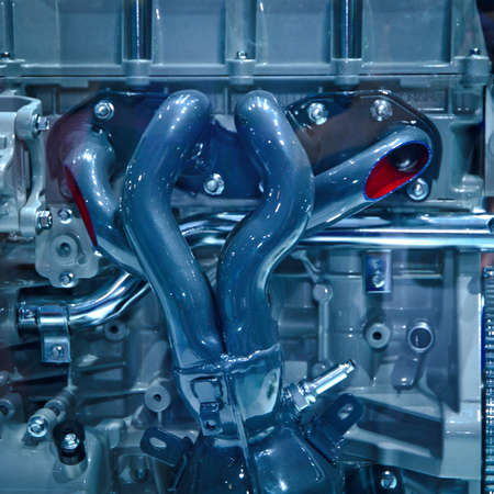 modern industry auto car engine photo